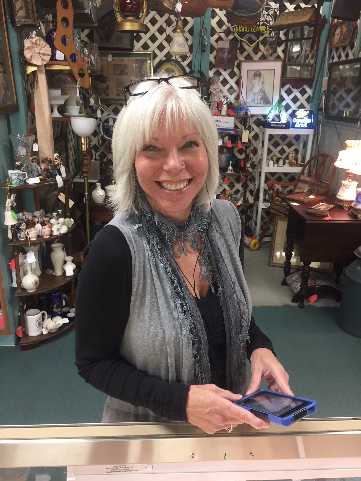 Meet Sandi, our Remote Personal Shopping Assistant! - Scranberry Coop - Vintage Store - Antiques, Collectibles, & More