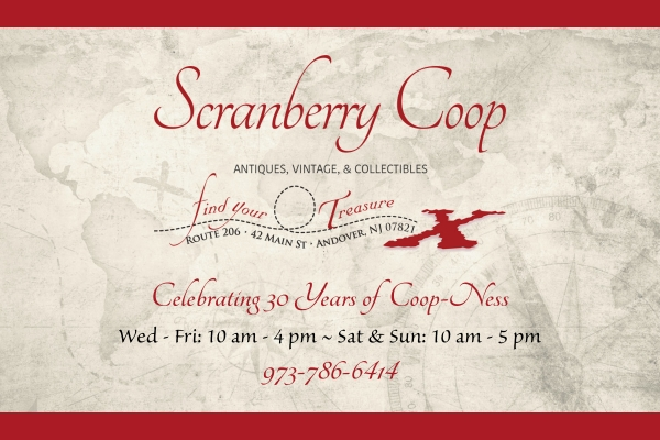 Gift Certificate - Scranberry Coop - Vintage Store - Antiques, Collectibles, & More