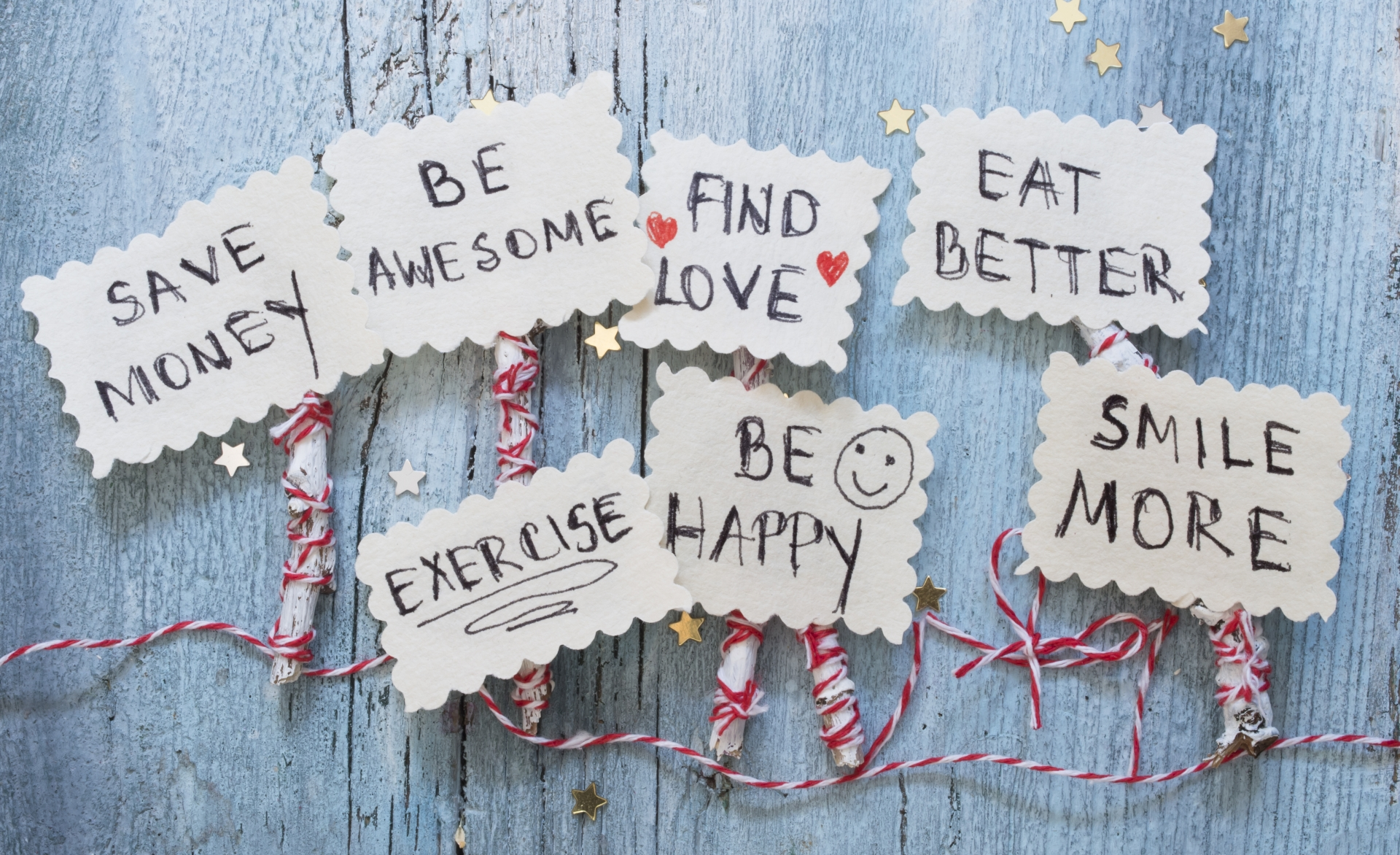 Keeping New Year's Resolutions - Scranberry Coop - Vintage Store - Antiques, Collectibles, & More